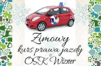 osk wizner - kurs prawa jazdy czechowice-dziedzice, prawo jazdy bielsko, prawo jazdy pszczyna, zima 2017 facebook