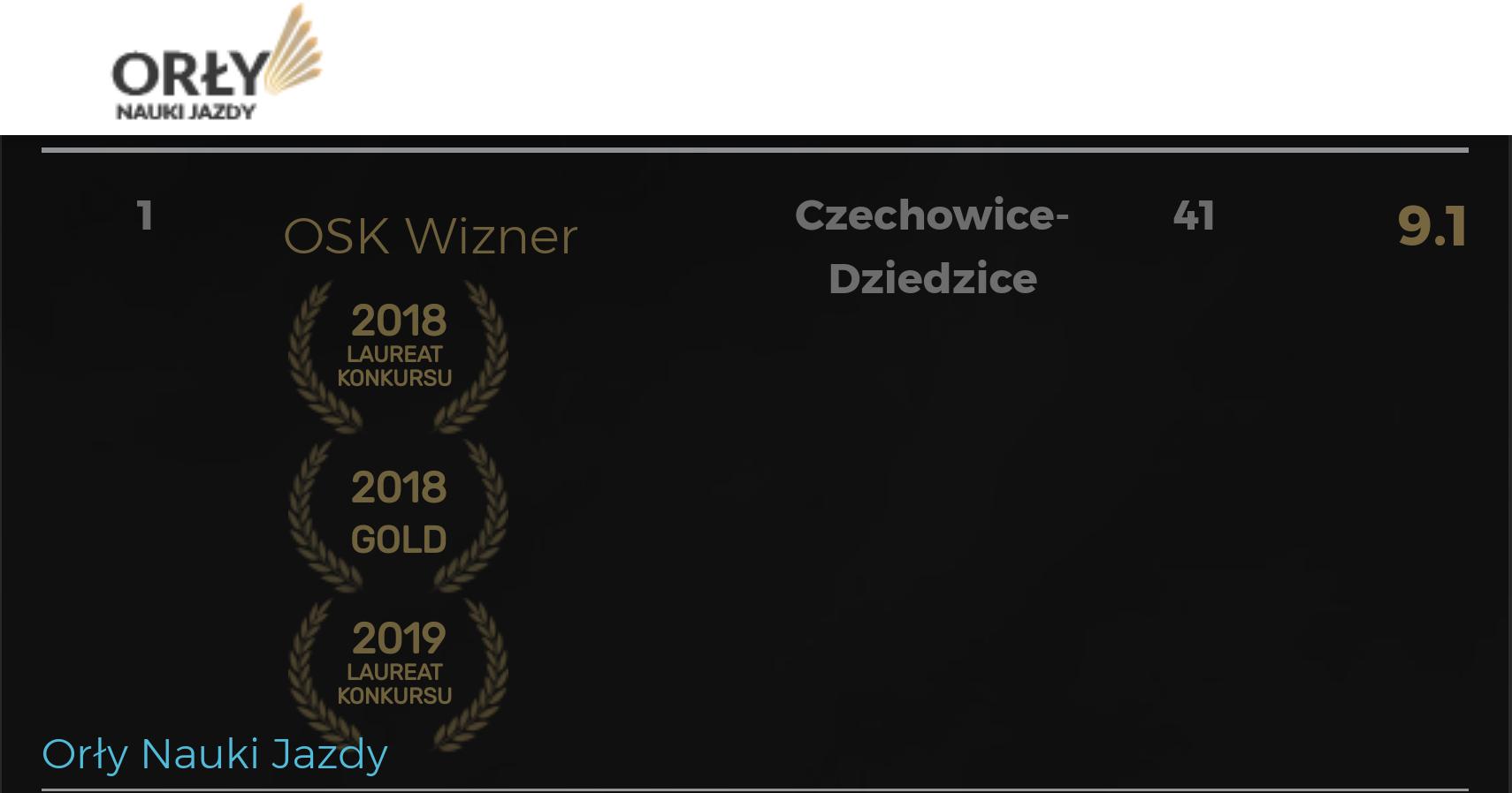 osk wizner - najlepsze prawo jazdy czechowice