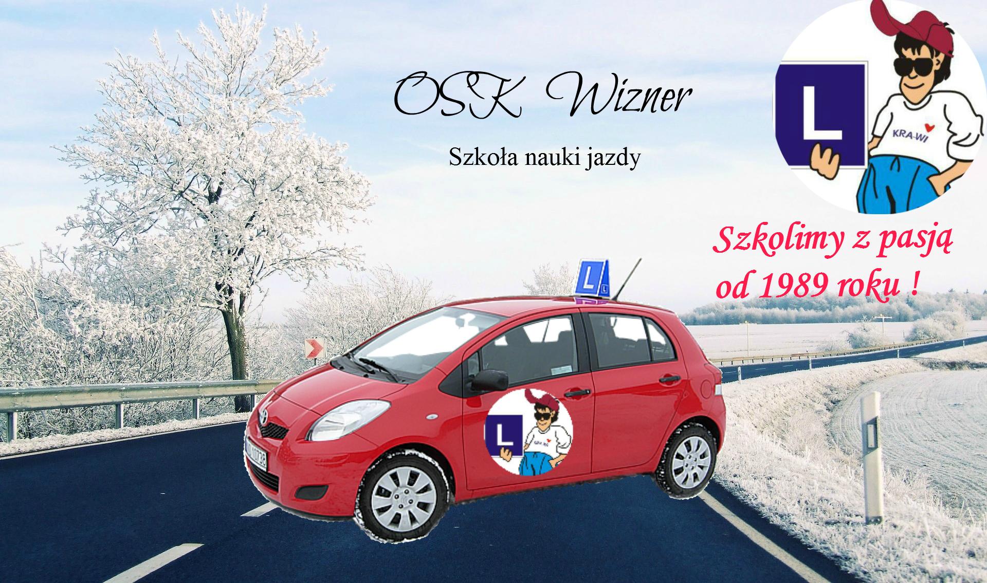 osk wizner szkoła nauki jazdy w Czechowicach-Dziedzicach, prawo jazdy zima 2016 i 2017